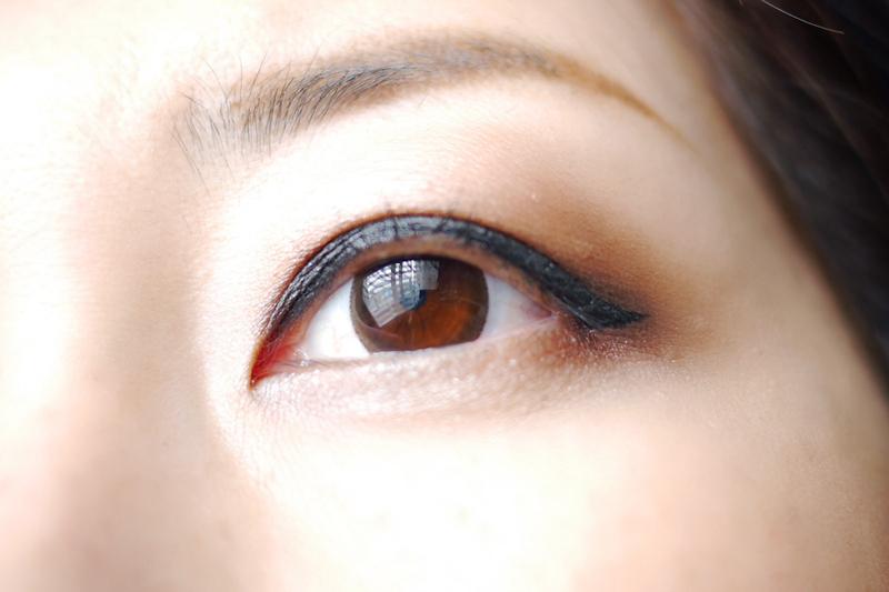 DAISO makeup products ダイソーのコスメでアイメイク