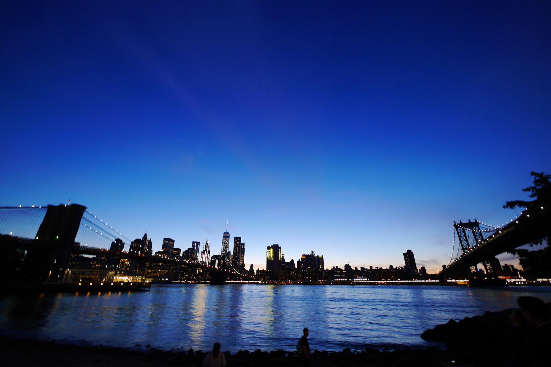 DUMBOから見るマンハッタン