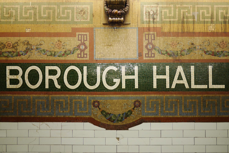 NYCの地下鉄