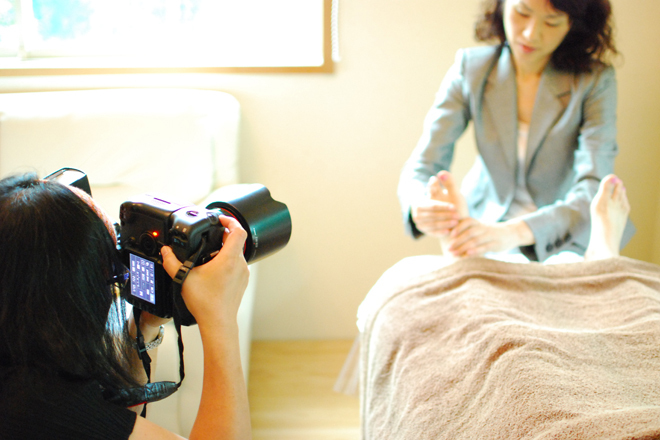 Salon photo-shooting!