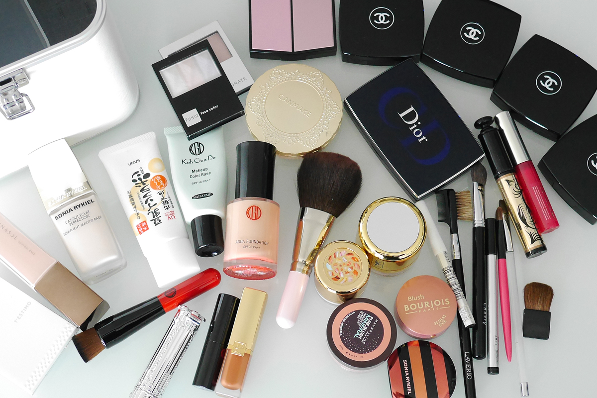 my makeup products